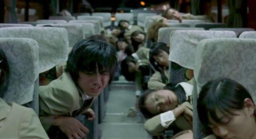 distopia - battle royale film scena pullman